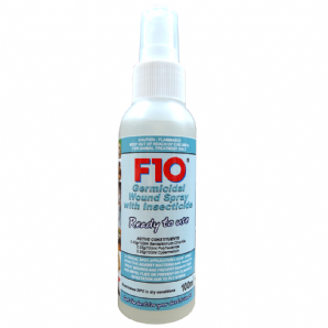 F10 Germicidal Wound Spray with Insecticide - from £13.50